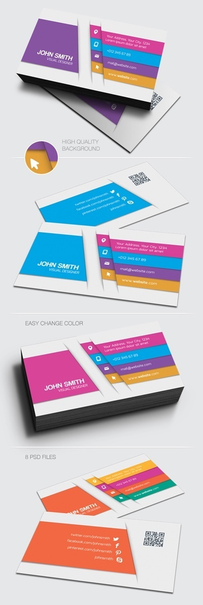21 Creative Corporate Business Cards Templates | Innovation | Scoop.it