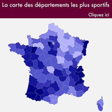 La carte de France des sports les plus pratiqués, commune par commune | Tout et rien | Scoop.it