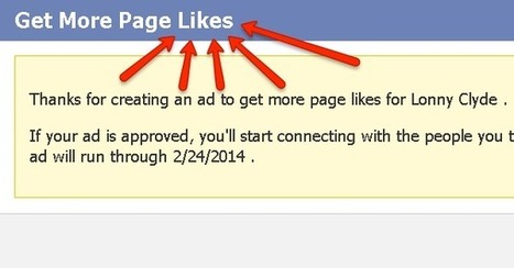 How to Use Promoted Page Ads to Get Tons of New Likes on Facebook | Online Marketing Articles - Recommended | Scoop.it