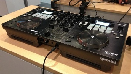 Musikmesse 2013: Gemini Rethinks Its GMX DJ Controller, Adds CD Version | DJing | Scoop.it