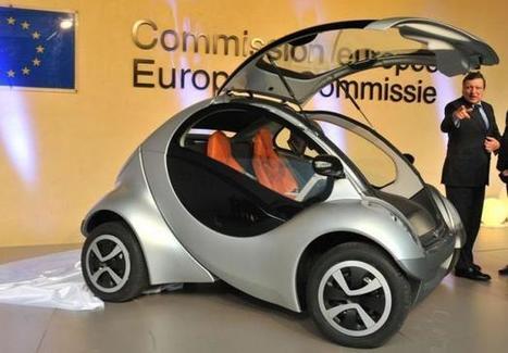 UE: Hiriko, une voiture électrique pliable pour des villes sans pollution (videos) | L'évolution des moyens de transporte s'inscrit-elle dans une démarche de développement durable ? | Scoop.it