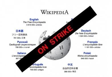 Wikipédia en grève ? - Rue89   Copyright Madness   Scoop.it