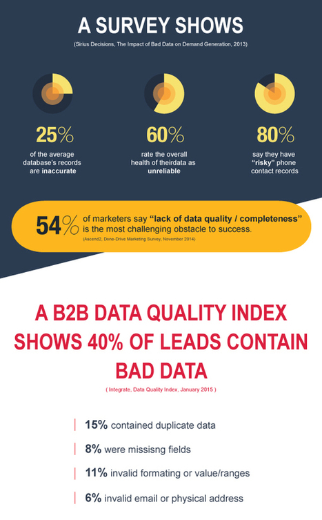 What is Bad Data and its Side-Effects? – From 'Fuel for Marketing' Series | Digital Marketing | Scoop.it