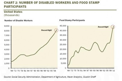 Two Charts Exposing America's Record Shadow Welfare State | ZeroHedge | Gold and What Moves it. | Scoop.it