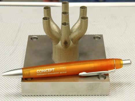 3D-printed rocket parts | KurzweilAI | DIY Manufacturing / 3d Printing | Scoop.it