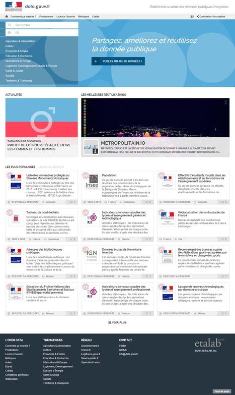 Internet : Jean-Marc Ayrault lance la nouveau 'DATA.GOUV.fr' | actions de concertation citoyenne | Scoop.it