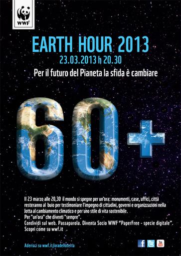 Earth Hour 2013, l'Ora della Terra: stasera alle 20.30 luci spente in tutto il mondo   Associazione Alveare - Avventure Culturali   Scoop.it