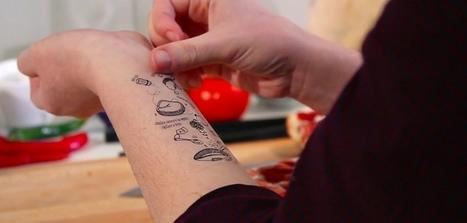 Tattoo Recipes : des tatouages de recettes pour cuisiner plus facilement | Id marketing cuisine | Scoop.it