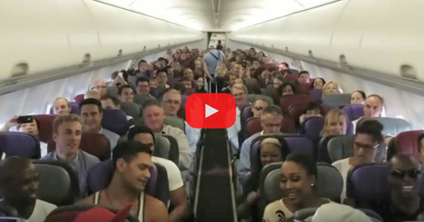 As They're Boarding The Plane, Watch What The People In The Front Row Do... It Blew Me Away! | LibertyE Global Renaissance | Scoop.it