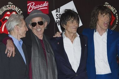 Rocking at 50: Rolling Stones to tour again | Rolling Stones Release New Album | Scoop.it