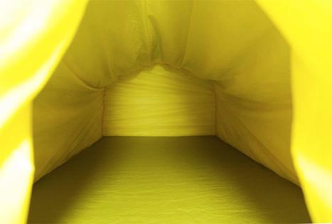 Une tente chauffée à la chaleur corporelle | Sport et innovation | Scoop.it