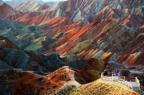 Danxia Landforms, China | Geogeeks | Scoop.it