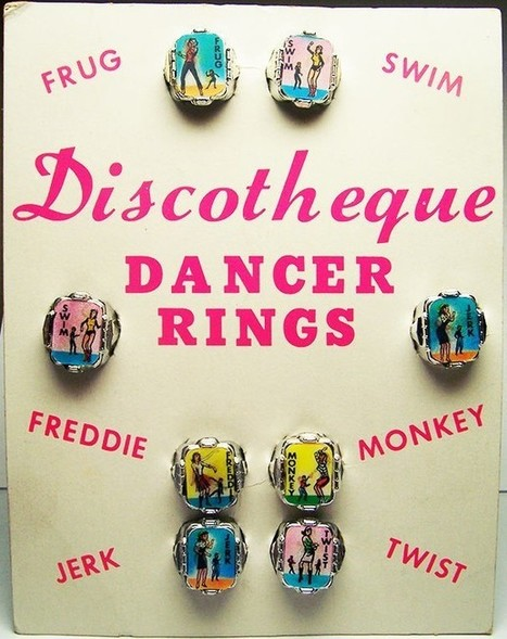 Vintage Dancer Rings | Antiques & Vintage Collectibles | Scoop.it