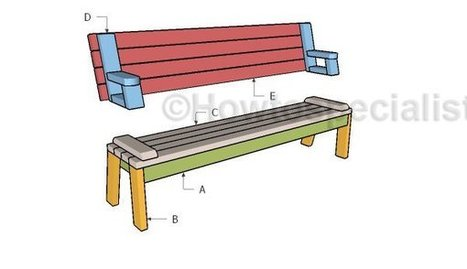Folding picnic table | Garden Plans | Scoop.it