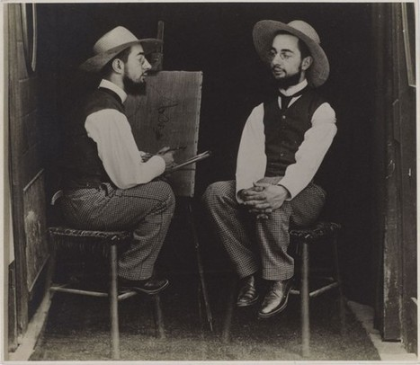 Toulouse-Lautrec as artist and model | Historia del Arte | Scoop.it