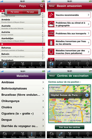 Application iPhone et Androïd « VIDAL du Voyageur » : partez en toute sécurité ! - EurekaSante.fr par VIDAL | Midnight in Jet-Lag city | Scoop.it