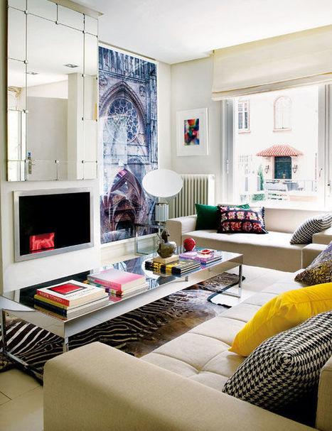 Visite déco : une maison moderne et colorée en Espagne | DecoCrush blog déco, idées déco | décoration & déco | Scoop.it
