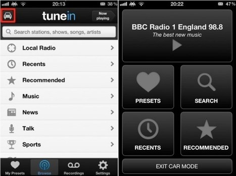 Listen To Live Radio On Your iOS Device With TuneIn Radio [iOS Tip] | Cult of Mac | Skolebibliotek | Scoop.it
