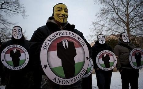#OPISRAEL : Anonymous démarre une CyberGuerre de grande envergure contre ISRAEL   Libertés Numériques   Scoop.it