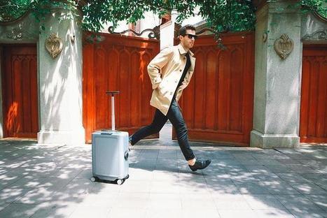 CowaRobot R-1 : une valise robot qui vous accompagne dans vos déplacements   Chasseurs de cool   Geek, applications, objets connectés   Scoop.it