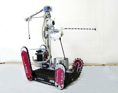 Le robot Quince pour observer Fukushima | L'Usine Nouvelle | Japon : séisme, tsunami & conséquences | Scoop.it