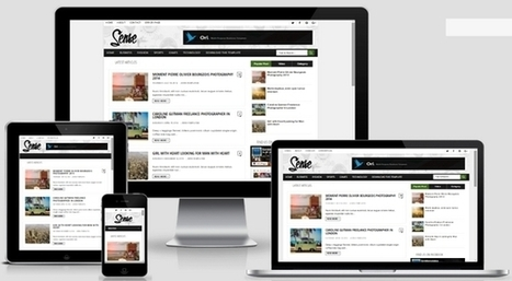 Sense Responsive Blogger Template Free Download | Blogger themes | Scoop.it