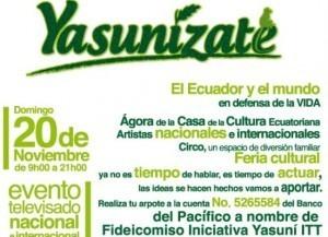 Cruzada cívica por el Yasuní se realiza hoy | Actualité du monde associatif, du bénévolat, des ONG, et de l'Equateur | Scoop.it