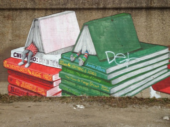 Books on Buildings: 20 Bookish Murals From Around the World, By Emily Temple | The Information Professional | Scoop.it