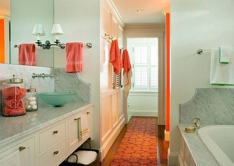 Guidelines in Making the Perfect Bathroom Accent | Home Design | Scoop.it