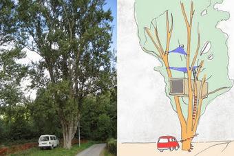Regalos espectaculares para niños: casa en el árbol... ¡a pedido! | Mi Kinder | Mi Kinder | Scoop.it