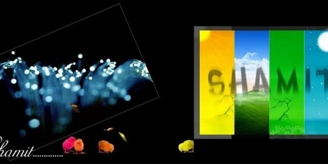 Amazing Four Color Birthday PSD Background Free Download   learning   Scoop.it