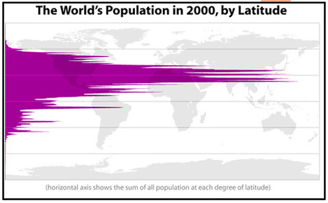 Population by Latitude/Longitude | Geospatial Human Geography | Scoop.it