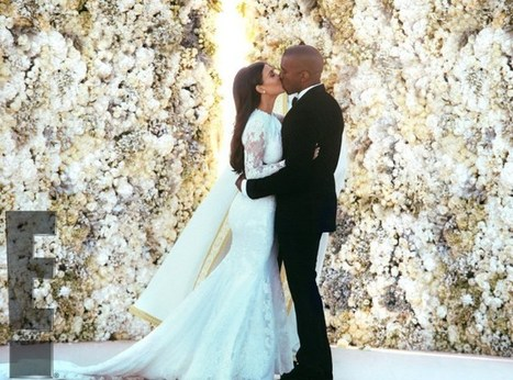 Mrs. West Is In The Building! KimYe's First Official Wedding Pics REVEALED (PHOTOS) | FASHION-BEAUTY-CLOTHES-GIRL | Scoop.it