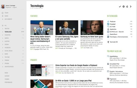 Alternativas a Google Reader y migración de nuestras suscripciones » SocialMedia | PLE-PLN | Scoop.it