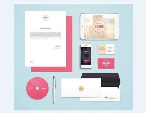 21 Free Brochure PSD Designs for Download | Good | Scoop.it