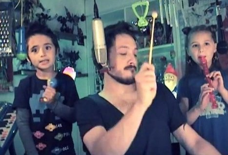 Dad and Kids Cover Depeche Mode (Video) | General Music Elementary | Scoop.it
