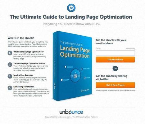 5 caratteristiche di una landing page efficace | Web Revolution | Scoop.it