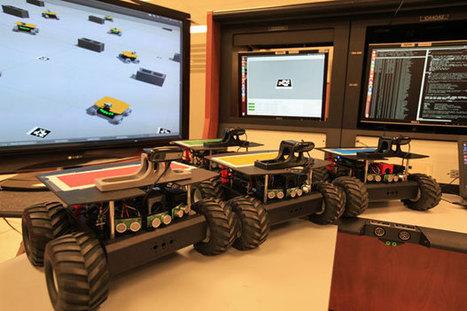 NASA Training 'Swarmie' Robots for Space Mining - IEEE Spectrum | Heron | Scoop.it
