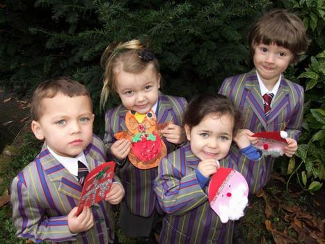 A Kiderminster school makes Christmas cards to support library appeal | Little success stories Christmas 2012 | Scoop.it