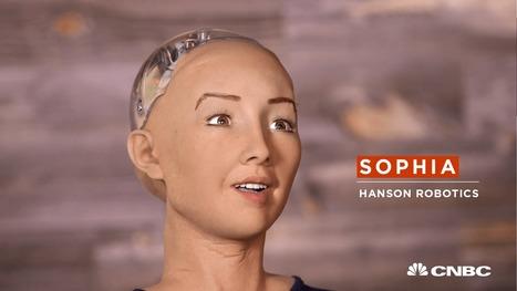 Sophia, humanoïde : « Je veux une famille et détruire l'humanité » - Tech - Numerama | Web 2.0 et société | Scoop.it