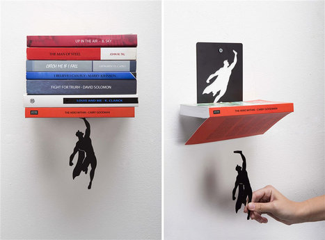Super-Hero Bookend That Keeps Your Books From Falling Down | Brokerage new wave in Belgium | Scoop.it