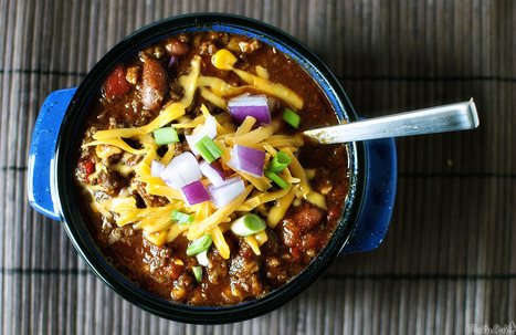 Slow Cooker Super Easy Big-Batch Chili | Food for Foodies | Scoop.it