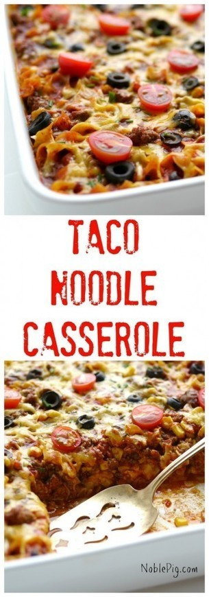 Food Ways - Taco Noodle Casserole http://dlvr.it/KvLS0k | My I Like Eating Channel | Scoop.it