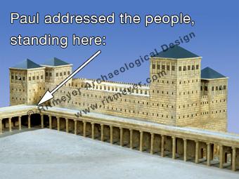 The Antonia Fortress in Jerusalem | Ritmeyer Archaeological Design | Biblical Studies | Scoop.it
