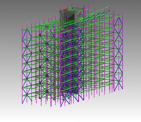 Commercial building structural steel detailing and modeling - | Architecture Building Information Modeling – BIM Services | Scoop.it