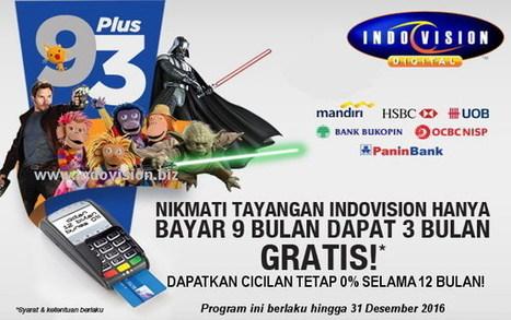 Dengan Program Khusus Cicilan 0% Biaya Bulanan Jadi Lebih Hemat | Indovision Digital Television | Scoop.it