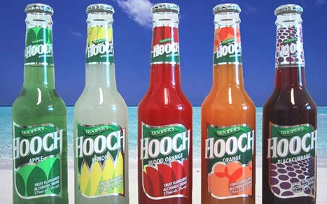 "Hands up if you got cunted on this too ""Hooch, the 1990s alcopop, returns to bars"" 