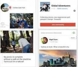 Histoires de Google Plus arrive sur iPhone et iPad - Les Outils Google | Les outils du Web 2.0 | Scoop.it
