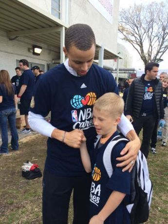 How NBA champ Steph Curry inspired this 13-year-old philanthropist | Crowdfunding, Giving Days, and Social Fundraising for Nonprofits | Scoop.it