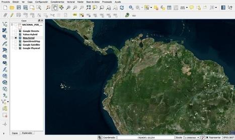Sincronizar QGIS con Google Earth | Geoprocessing | Scoop.it